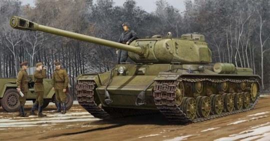 Trumpeter - Soviet KV-122 Heavy Tank