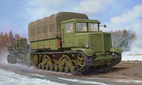 Trumpeter - Voroshilovets Tractor