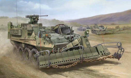 Trumpeter - M1132 Stryker Engineer Squad Vehicle