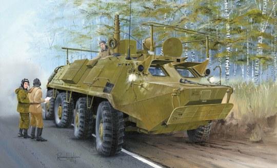 Trumpeter - BTR-60P BTR-60PU