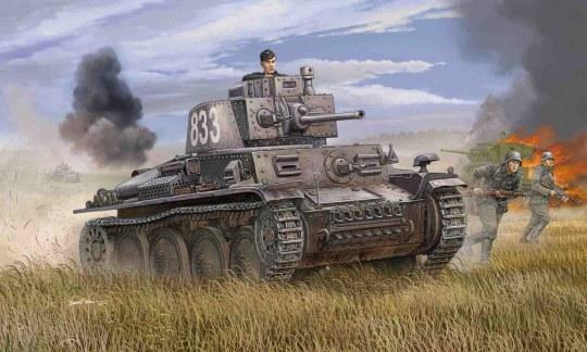 Trumpeter - German PzKpfw 38(t) Ausf.E/F
