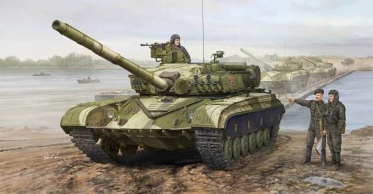 Trumpeter - Soviet T-64A MOD 1981