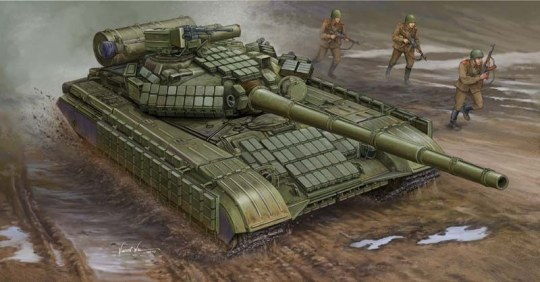 Trumpeter - Soviet T-64AV MOD 1984