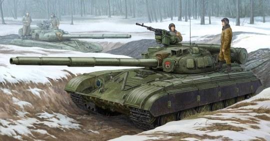Trumpeter - Soviet T-64B MOD 1975