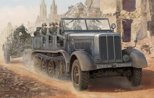 Trumpeter - Sd.Kfz.8 Schwerer Zugkraftwagen 12t