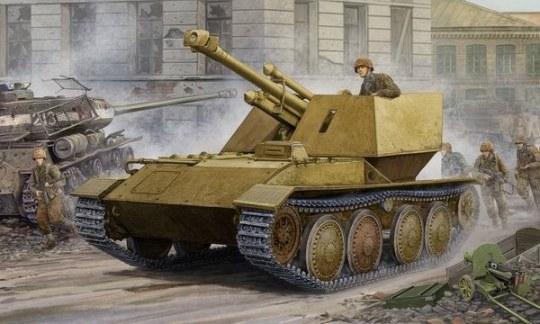 Trumpeter - Krupp/Ardelt Waffentrager 105mm leFH-18