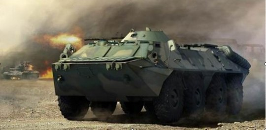 Trumpeter - Russian BTR-70 APC late version