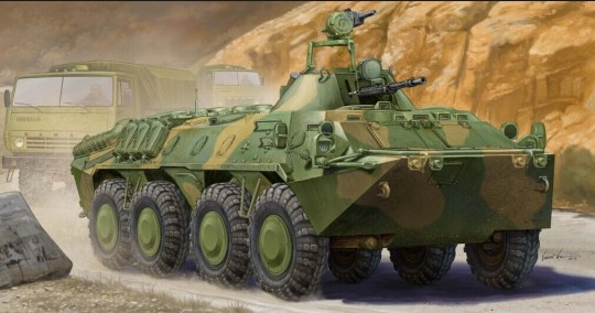 Trumpeter - Russian BTR-70 APC in Afghanistan