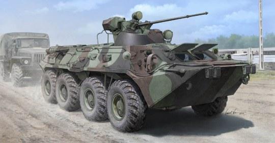 Trumpeter - Russian BTR-80A APC