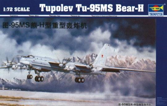 Trumpeter - Tupolev Tu-95 MS Bear-H