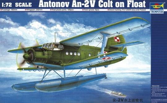 Trumpeter - Antonov An-2M Colt Wasserflugzeug