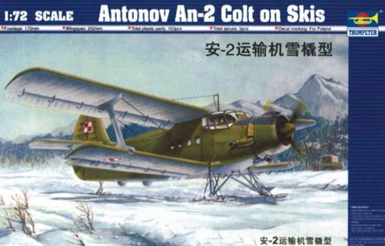 Trumpeter - Antonov An-2M Colt mit Kufen