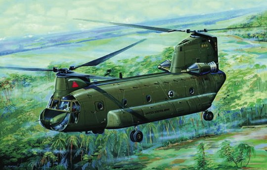 Trumpeter - CH47A Chinook
