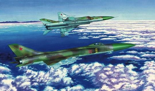 Trumpeter - Su-15 TM Flagon-F