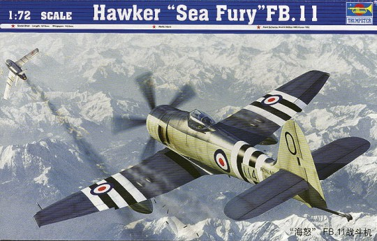 Trumpeter - Hawker ''Sea Fury'' FB.11