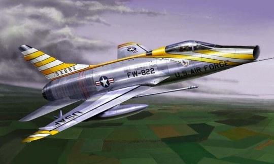 Trumpeter - F-100D Super Sabre