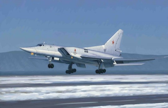 Trumpeter - Tu-22M3 Backfire C Strategic bomber