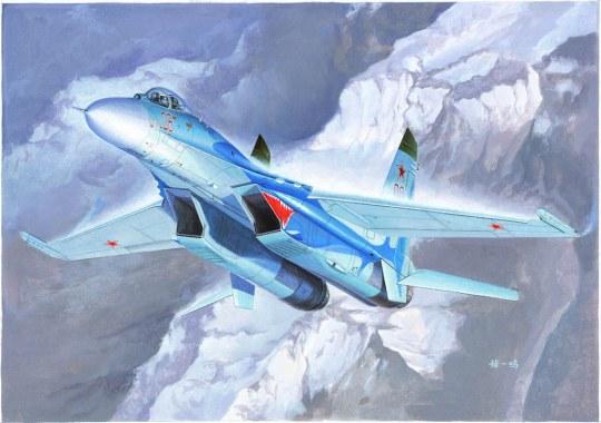 Trumpeter - Russian Su-27 Flanker B Fighter