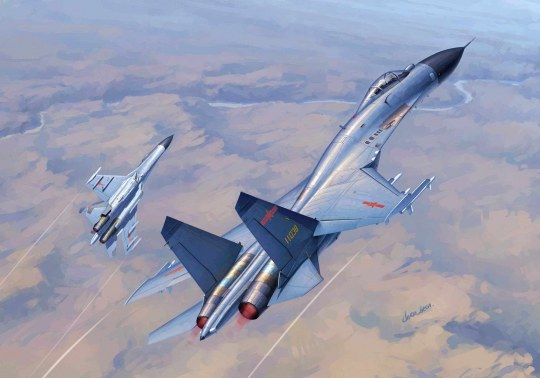 Trumpeter - Chinese J-11B Fighter