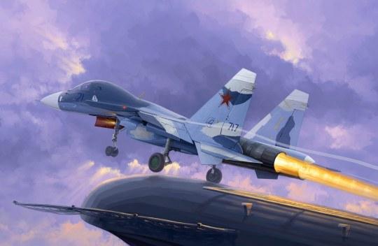 Trumpeter - Russian Su-33UB Flanker D