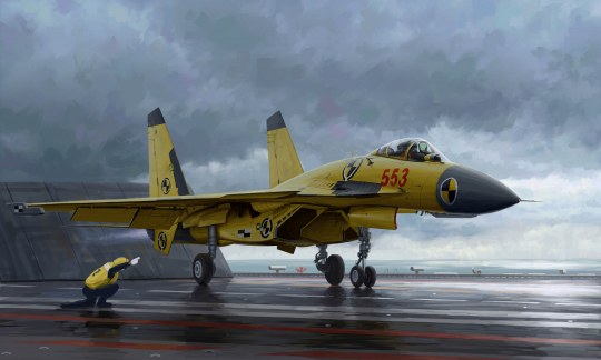 Trumpeter - Chinese J-15 with flight deck