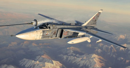 Trumpeter - Su-24M Fencer-D