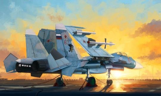 Trumpeter - Russian Su-33 Flanker D