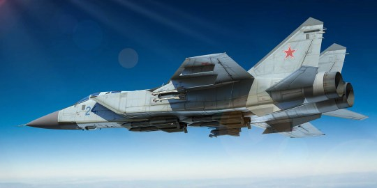 Trumpeter - Russian MiG-31 Foxhound