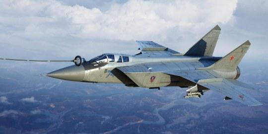 Trumpeter - Russian MiG-31B/BM Foxhound