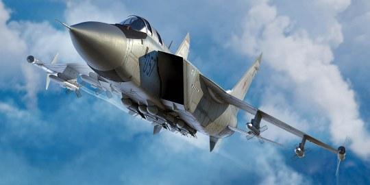 Trumpeter - Russian MiG-31M Foxhound