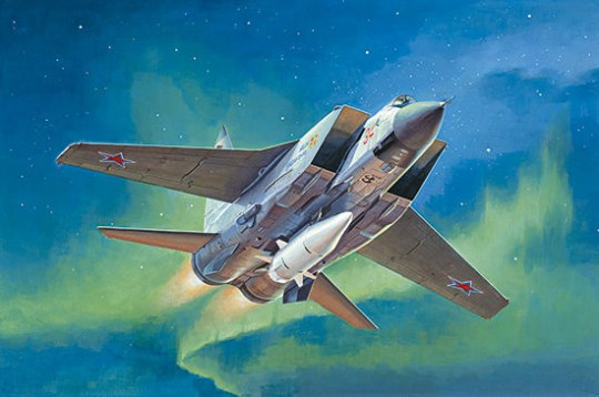 Trumpeter - MiG-31BM.w/KH-47M2