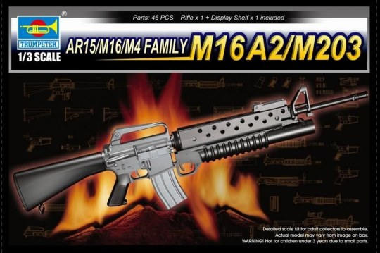 Trumpeter - AR15/M16/M4 FAMILY-M16A2/M203