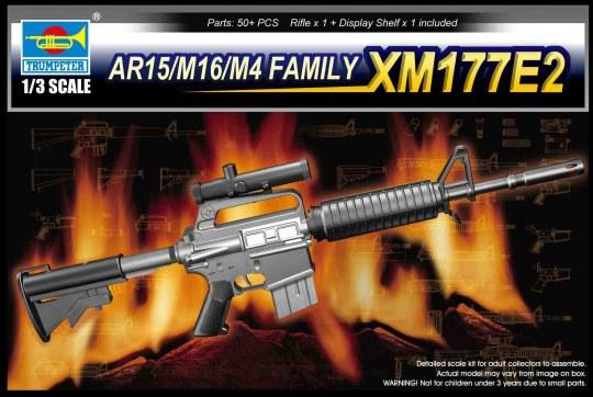 Trumpeter - AR15/M16/M4 Family-XM177E2