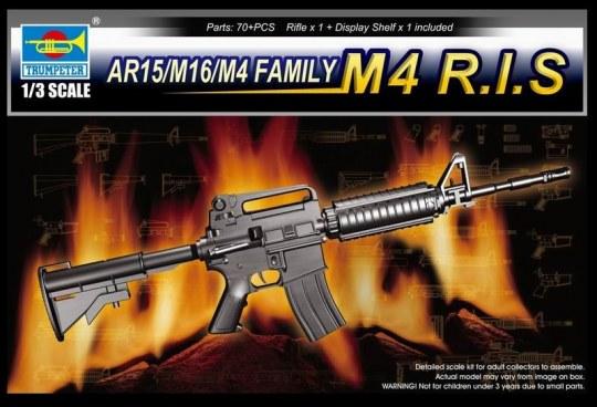 Trumpeter - AR15/M16/M4 Family-M4 R.I.S.