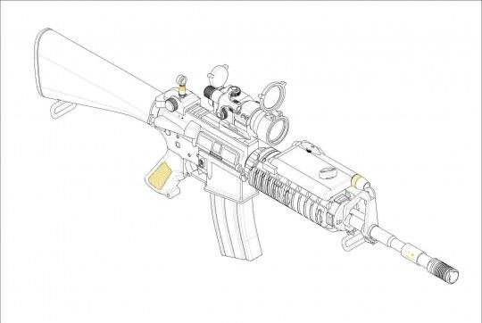 Trumpeter - AR15/M16/M4 FAMILY-SR16