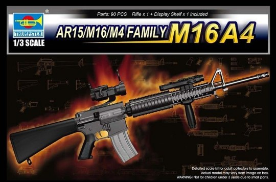 Trumpeter - AR15/M16/M4 FAMILY-M16A4