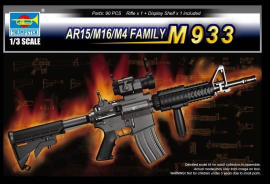 Trumpeter - AR15/M16/M4 FAMILY-M933