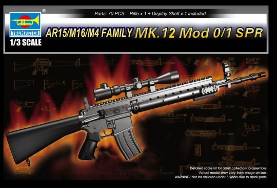 Trumpeter - AR15/M16/M4 FAMILY-MK.12 Mod o/1 SPR