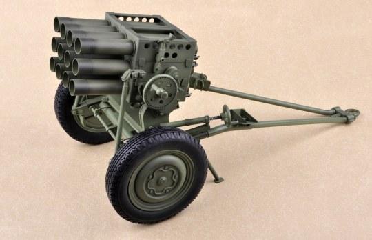Trumpeter - PLA Type 63 107mm Rocket Laucher