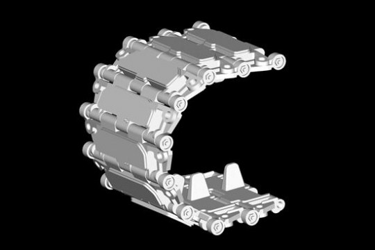 Trumpeter - Chinese TYPE 83 Track links