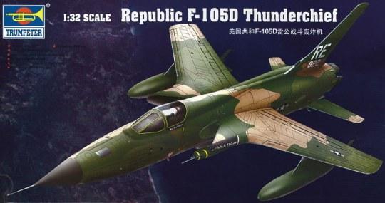 Trumpeter - Republic F-105 D Thunderchief