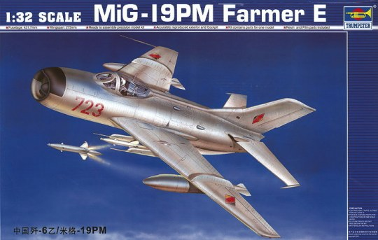 Trumpeter - MiG-19 PM Farmer E/Shenyang F-6B