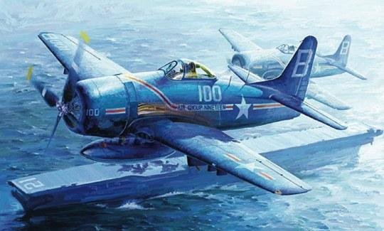 Trumpeter - F8F-1 Bearcat
