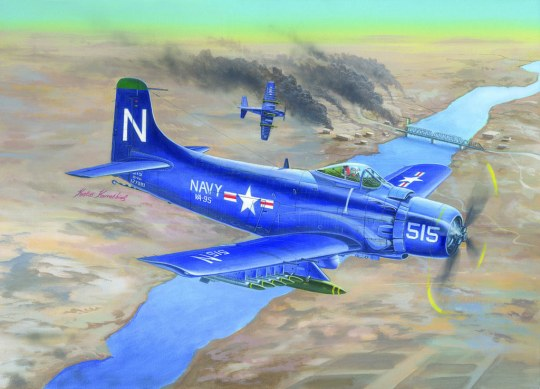 Trumpeter - A-1D AD-4 Skyraider