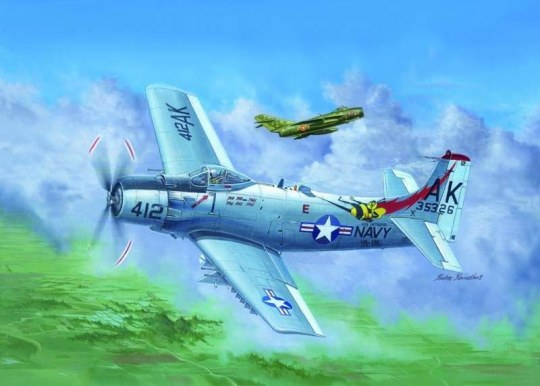 Trumpeter - A-1H AD-6 Skyraider