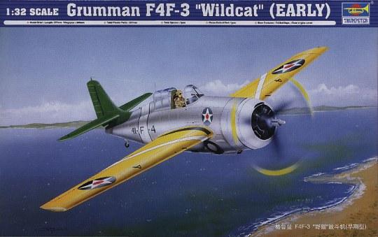 Trumpeter - Grumman F4F- 3 ''Wildcat'' (Early)