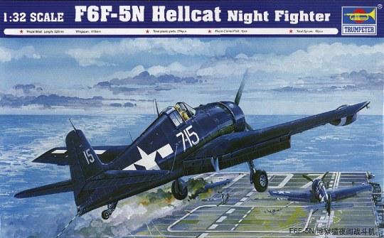 Trumpeter - F6F-5N ''Hellcat''