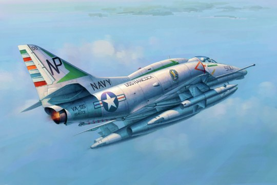 "Trumpeter - A-4E ""Sky Hawk"""