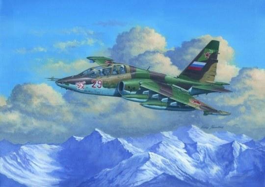 Trumpeter - Su-25UB Frogfoot B