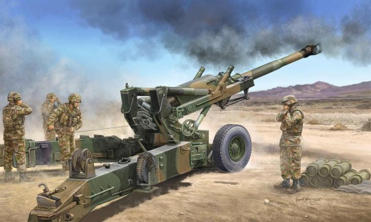 Trumpeter - US M198 155mm Medium Towed Howitzer Early Version